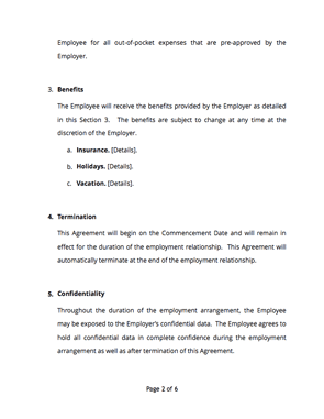 Employment contract page2 thumb