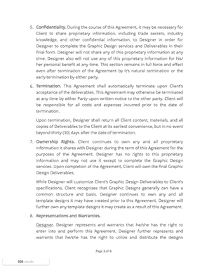 graphic design contract thumb graphic design contract page2 thumb