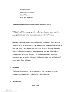 Www Docsketch Com Assets Sublease Agreement Page2
