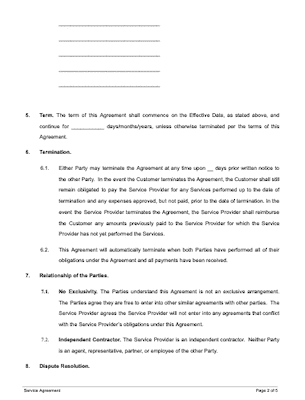 Contract Termination Letter Sample Doc from www.docsketch.com