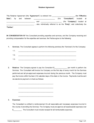 Contract Templates And Agreements With Free Samples